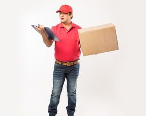 Delivery Man Shoot