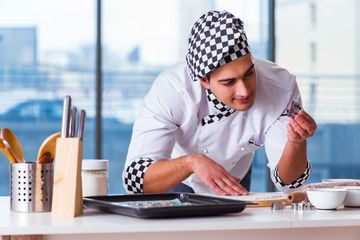 Cooking Tutorial Stock Images