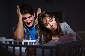Young Parents Stock Images