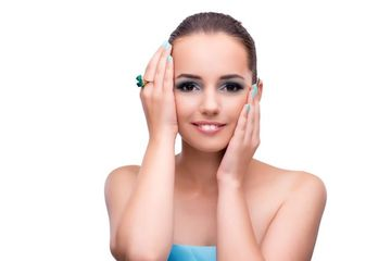 Beauty And Cosmetics Stock Images