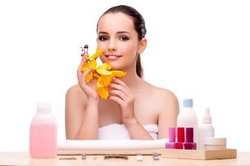 Beauty Treatment Stock Images